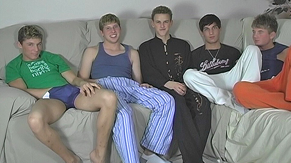 Five Boy Jerk And Suck Session – Blair, Jayce, Sean, Tyler and Tyler