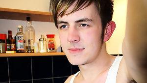 Gay Boyfriend : Inked Zacharry Star Jerks Out loads - Boyfriendshare!